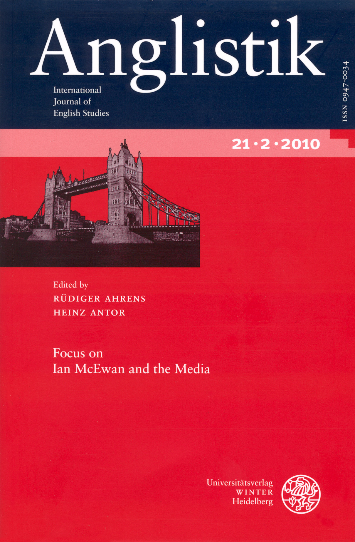 Anglistik with a focus on Ian McEwan and the Media