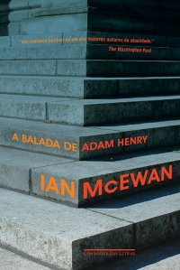 The Children Act by Ian McEwan -- Brazilian Edition published by Companhia das Letras